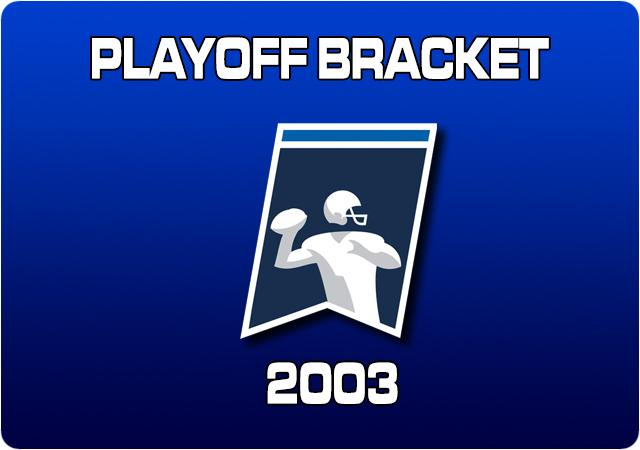 2003 Playoff Bracket