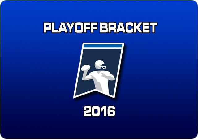 2016 Playoff Bracket