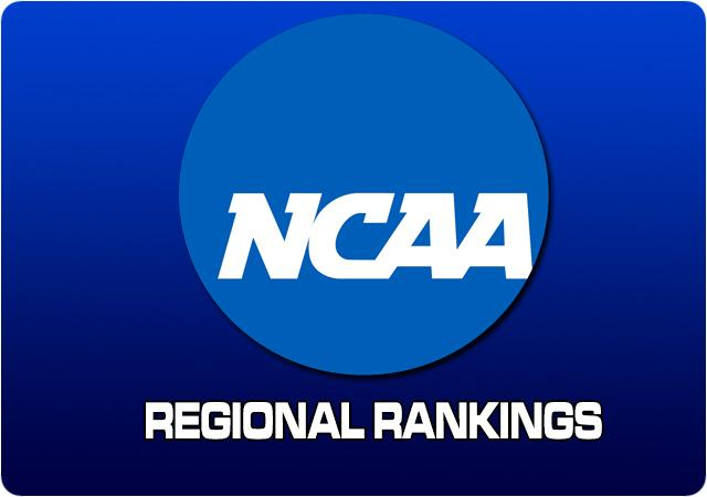 Regional Rankings - October 28